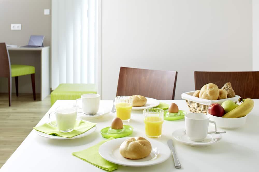 Habitación individual, 1 cama individual - Servicio de comidas en la habitación