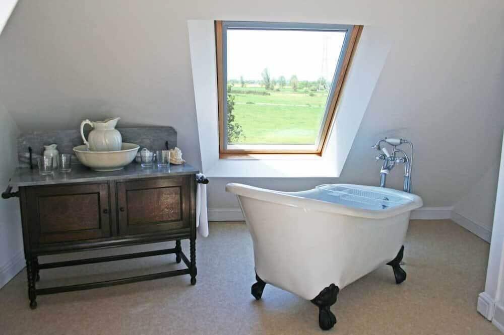 Traditionelt feriehus - 1 soveværelse - Dybt badekar