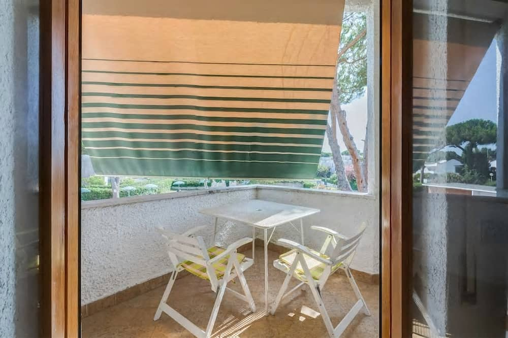Classic-Maisonette, 1 Schlafzimmer, Poolzugang, Poolseite - Balkon