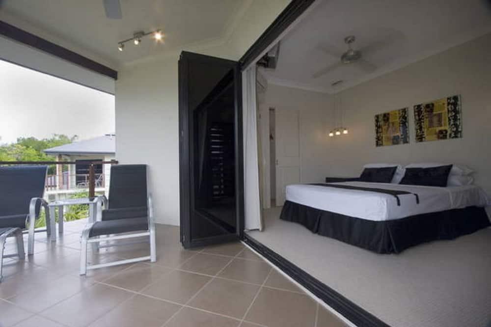 Villa Luxury, 2 camere da letto, piscina privata, vista montagna - Balcone