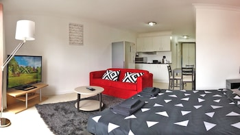 Nuotrauka: MyHoYoHo Design Studio Apartment, Pyrmont