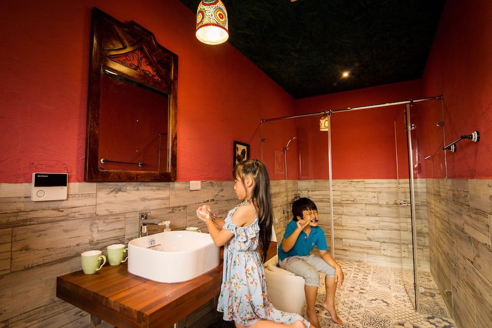 Chambre Quadruple Confort - Salle de bain