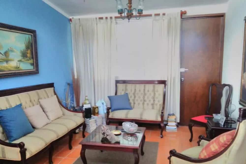 Familiebyhus - 4 soveværelser - Opholdsområde