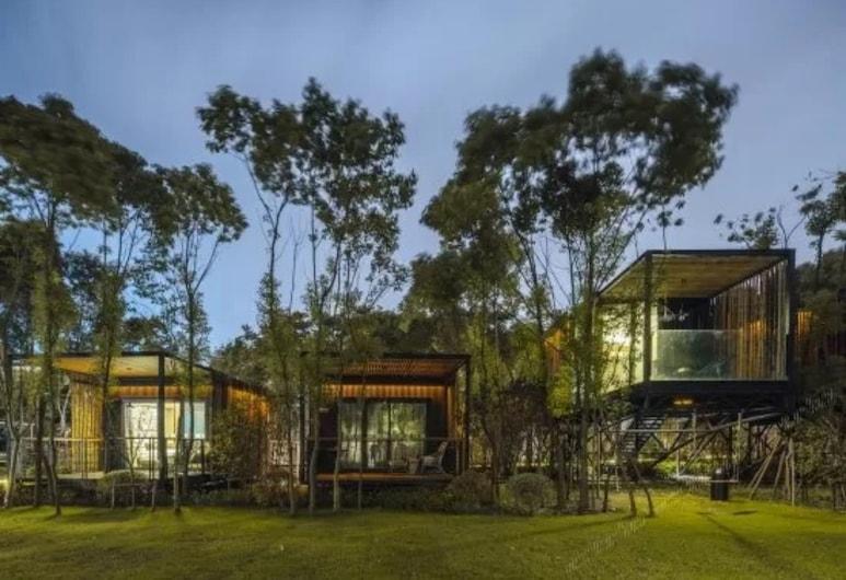 Lin Jia Camping Site Shanghai, Shanghái, Cabaña Elite, Habitación