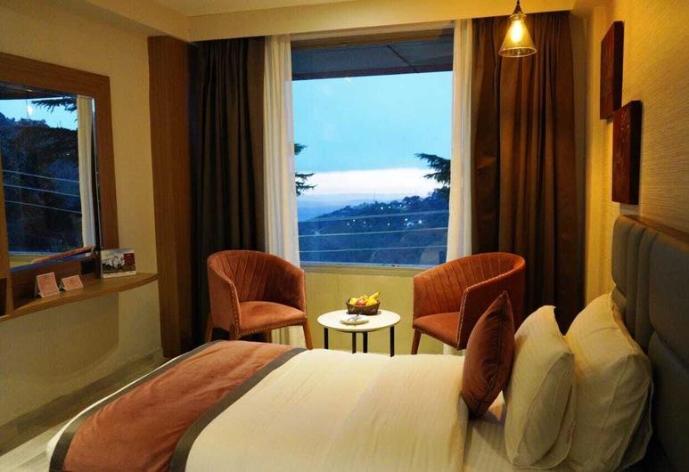 Pride Surya Mountain Resort Dharamshala, Daramšala, Pagerinto tipo dvivietis kambarys, 1 standartinė dvigulė lova, Svečių kambarys