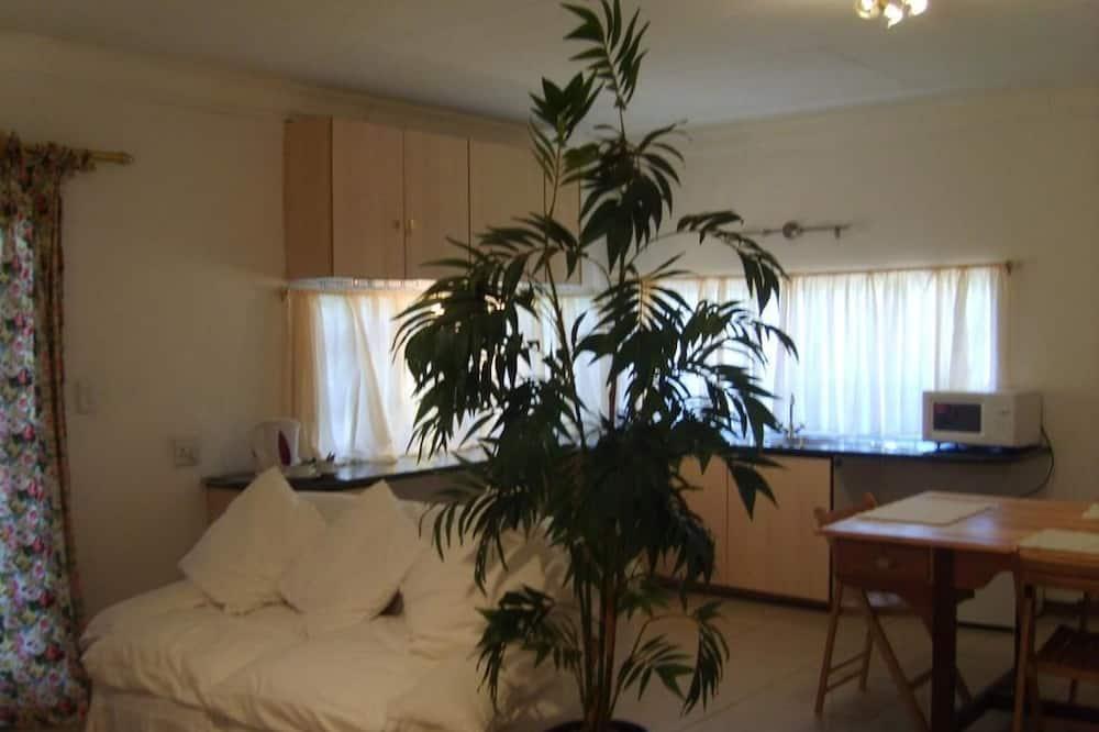 Rodinná izba, 2 spálne, výhľad na záhradu - Obývacie priestory