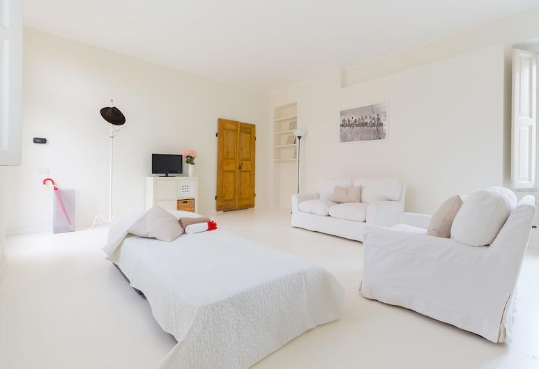 Alessia's Flat - Colonne di San Lorenzo, Milaan, Appartement, 2 slaapkamers, Woonkamer