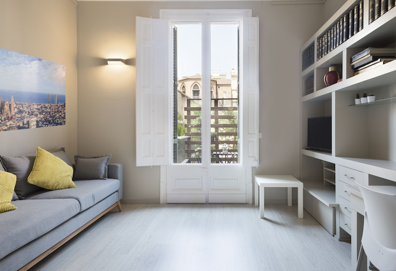Urquinaona Apartment, Barcelone, Appartement, 1 chambre, Coin séjour