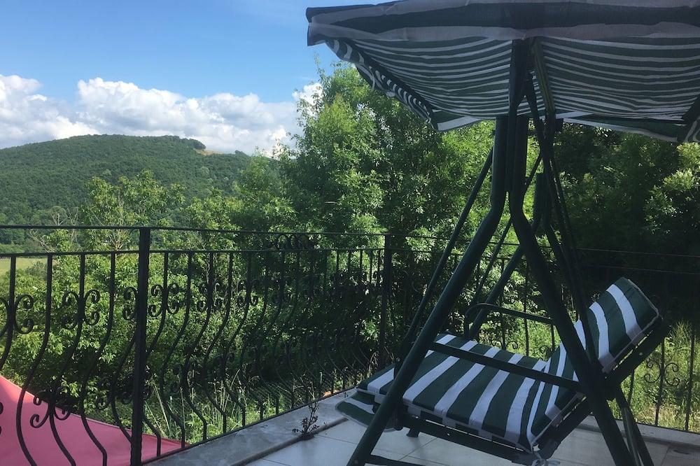 Suite Exclusive, 1 chambre, baignoire à jets, vue montagne (Turkuaz) - Balcon