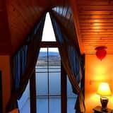Chambre Double, cheminée (Mavi Teras) - Coin séjour