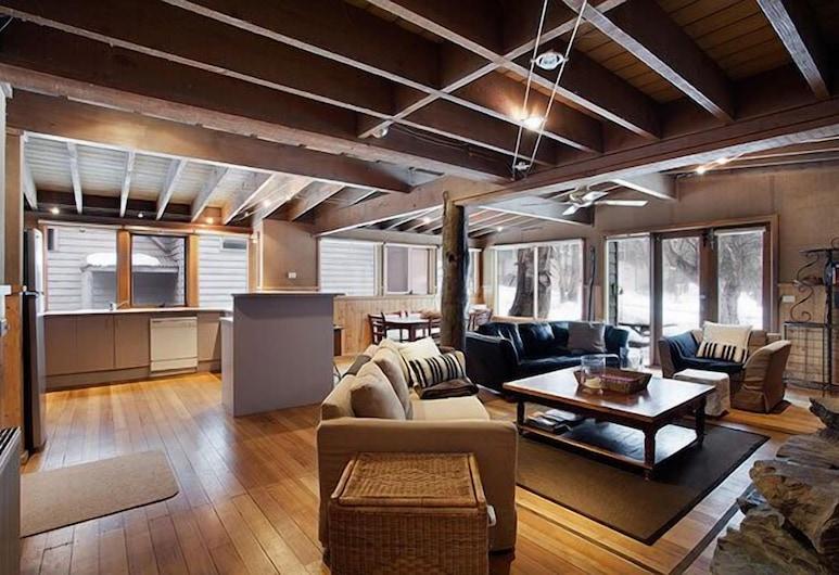 Ironbark, Dinner Plain, Chalet, 3 Bedrooms, Living Area