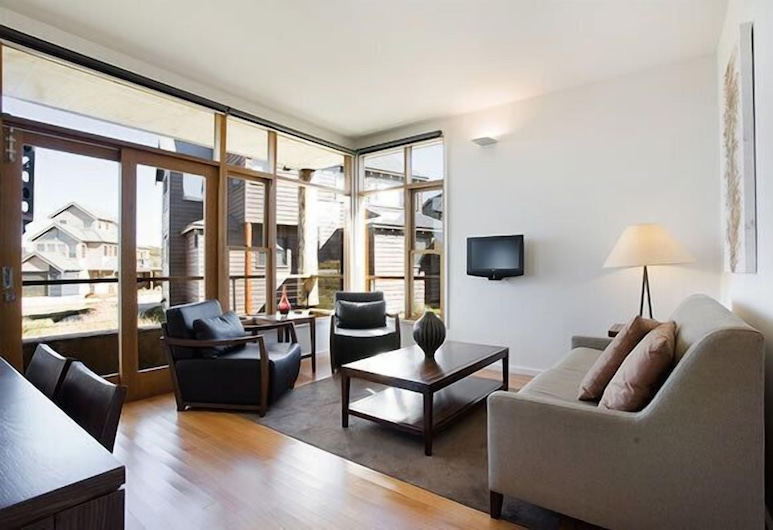 Triggerplant 2, Dinner Plain, Apartament, 1 sypialnia, Salon