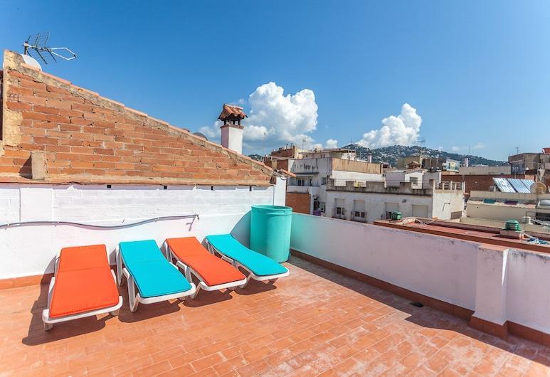 Loft Hostal, Lloret de Mar, Pokój dla 3 osób Panoramic, 2 sypialnie, prywatna łazienka (With Terrace / TRPL), Taras/patio