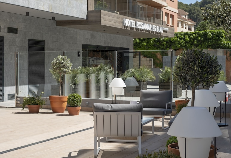 Hotel Rosamar Es Blau****S - Adults Only, Lloret de Mar, Terrass
