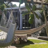 家庭套房, 花园景观 - 起居区