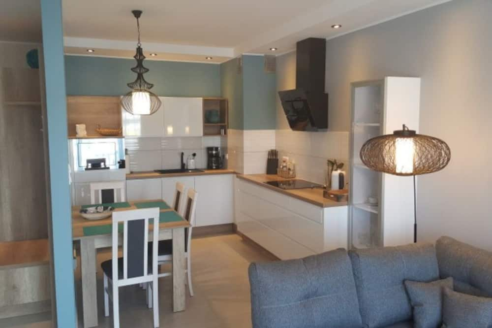 Deluxe Apartment, Canal View - Living Area