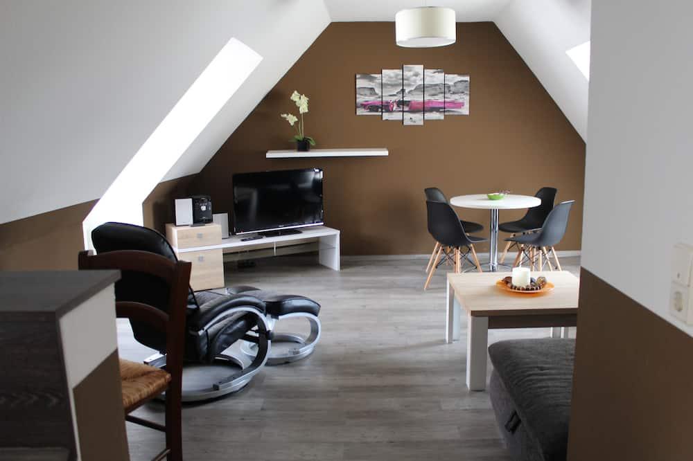 Apartmán typu Gallery, 1 ložnice - Obývací pokoj