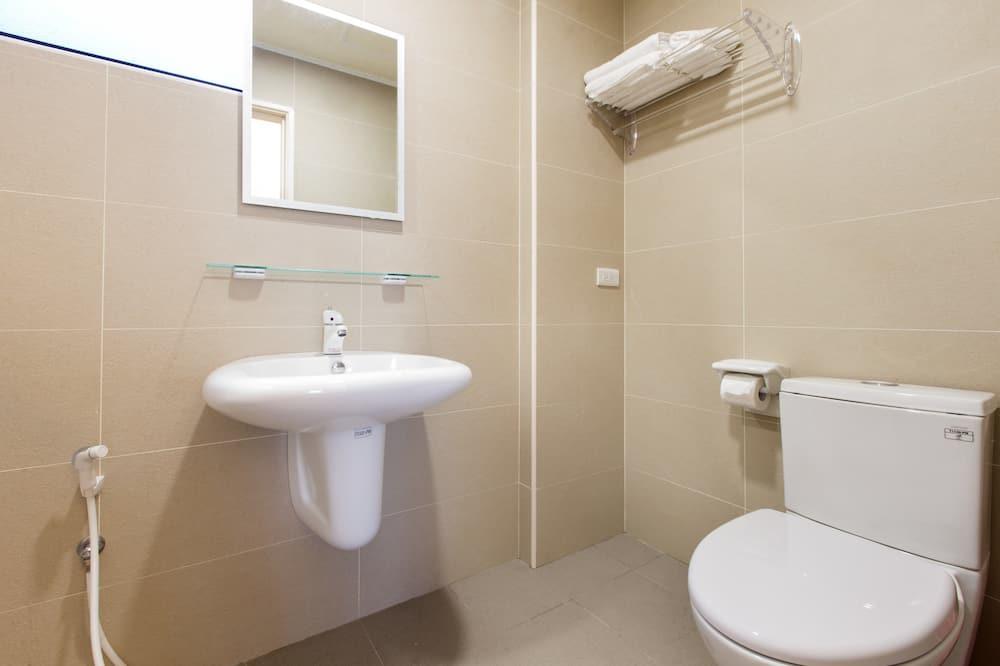Стандартний двомісний номер, з балконом (401) - Ванна кімната