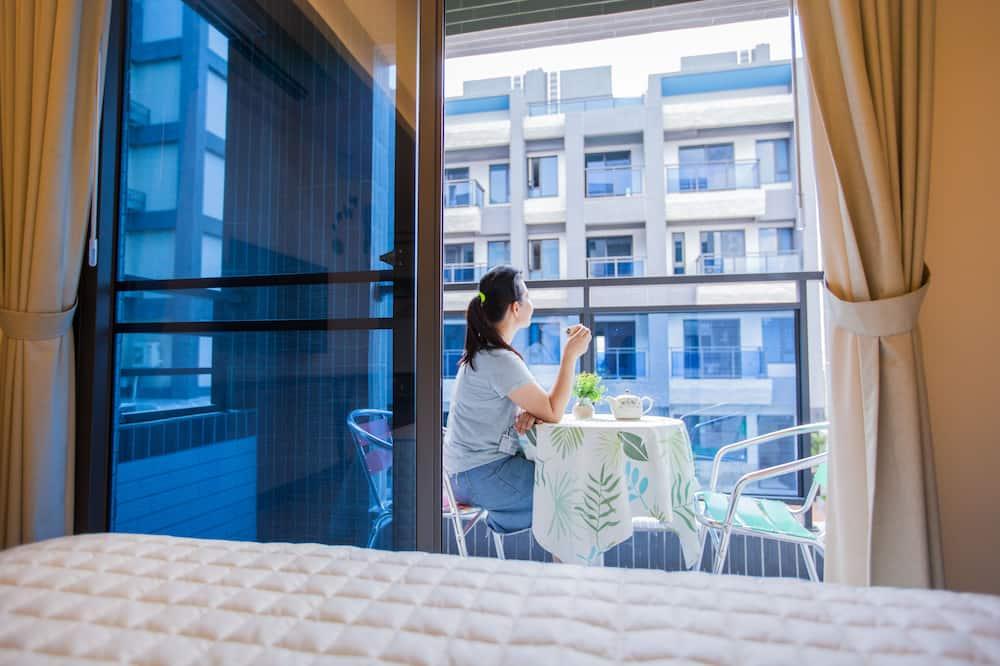 Habitación cuádruple Gallery, balcón, vistas al patio - Balcón