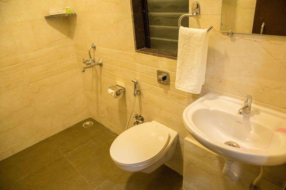 Executive-Zimmer, 1King-Bett - Badezimmer