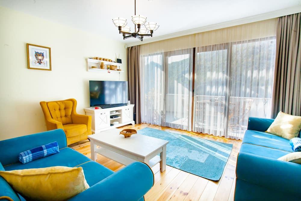 Biệt thự, 3 phòng ngủ, Quang cảnh hồ - Phòng khách
