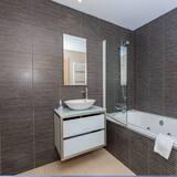 Appartement, 2 chambres, terrasse, vue piscine - Salle de bain