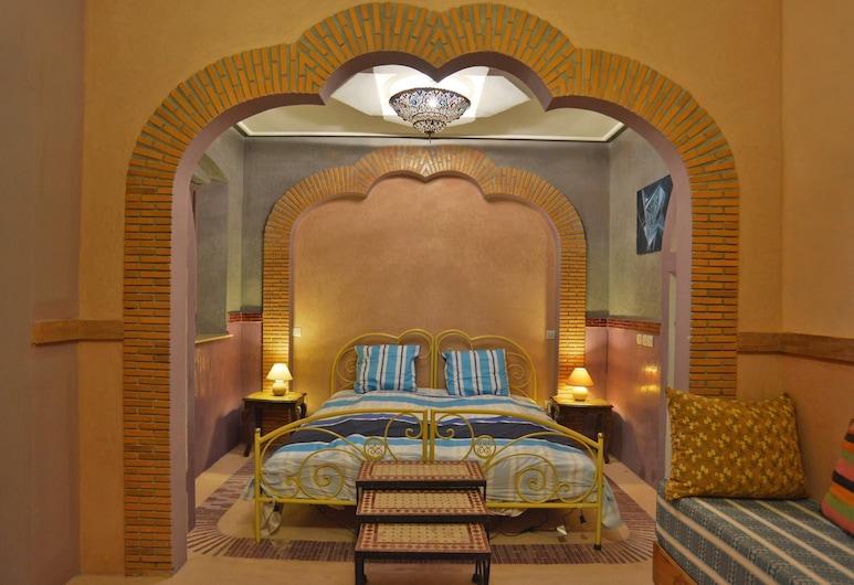 Riad Aicha Marrakech, Marrakesch, Comfort-Doppel- oder -Zweibettzimmer, 1 Schlafzimmer, Zimmer