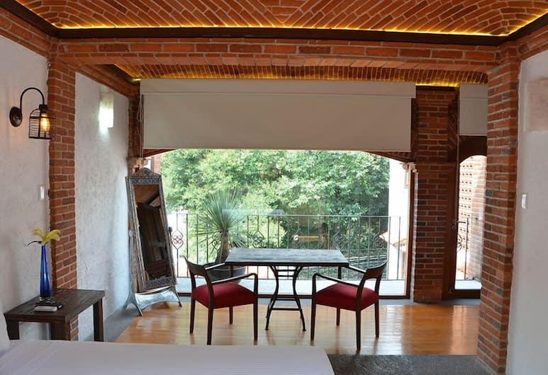 Casa Coyoacan, Mexiko-Stadt, Deluxe-Suite, Balkon, Zimmer