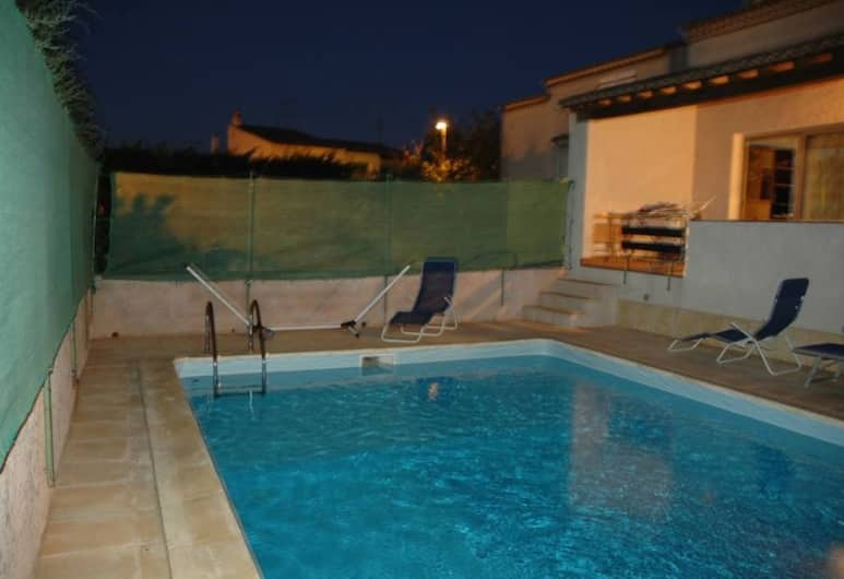 Villa With 3 Bedrooms in Agde, With Private Pool and Enclosed Garden - 2 km From the Beach, Agde