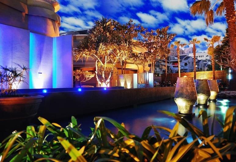 優勝美地精緻汽車旅館-太原館, 台中市, 酒店入口 - 夜景