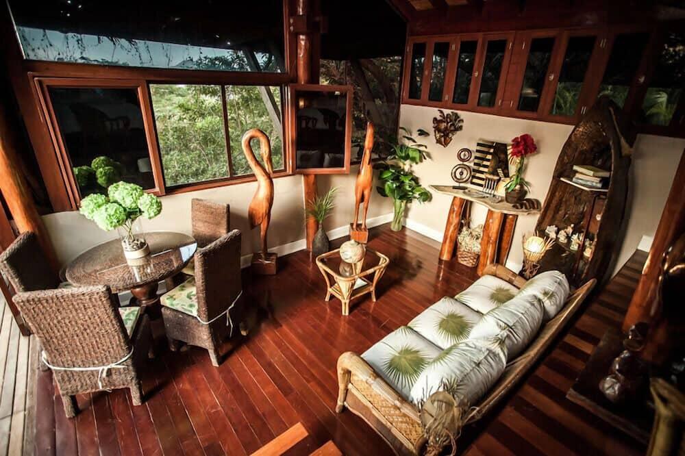 奢華小屋, 1 張特大雙人床, 非吸煙房 - 客廳