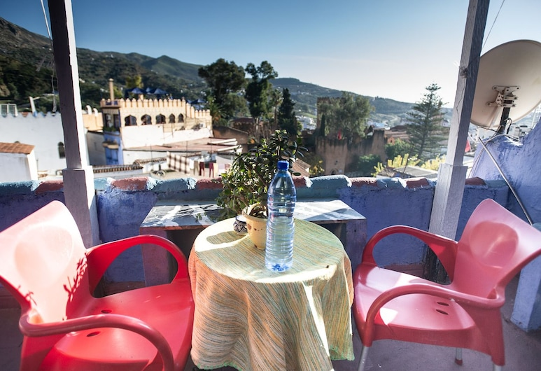 Hotel Barcelona, Chefchaouen, Basic Double Room, Hill view