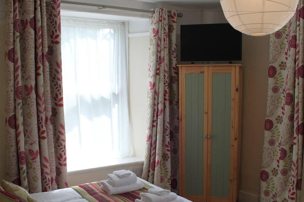 Двухместный номер с 1 двуспальной кроватью, вид на море - Ванная комната