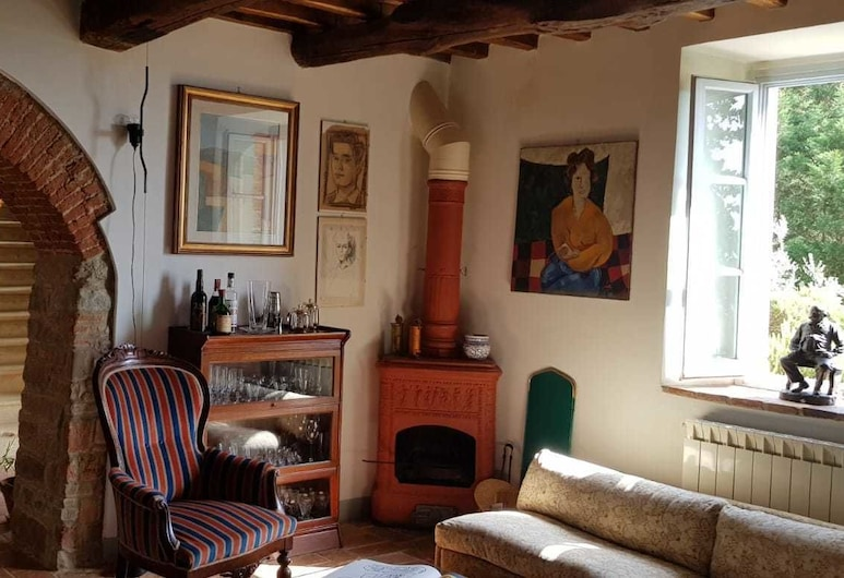 Villa Gioietta, Greve in Chianti, Classic Villa, Shared Bathroom, Ruang Tamu