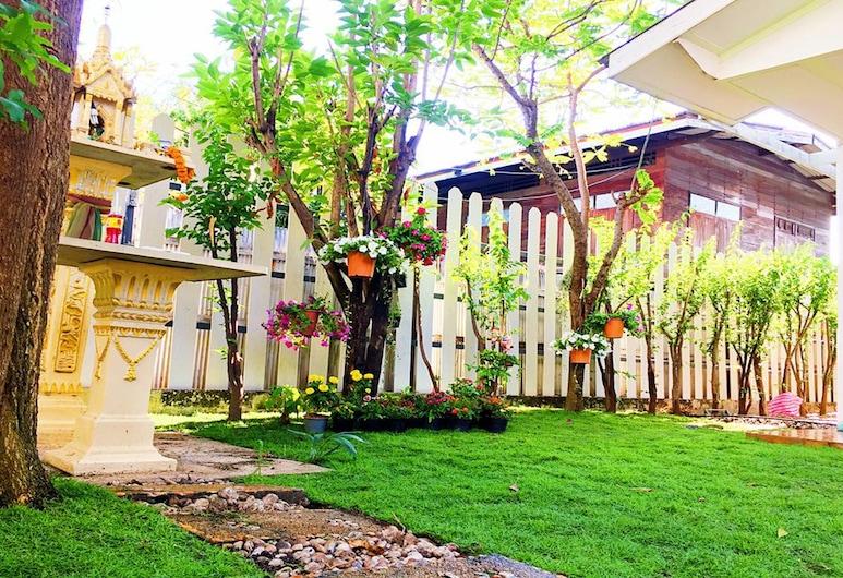 ハッシュ ハッシュ キャビナー - ホステル, バンコク, 庭園