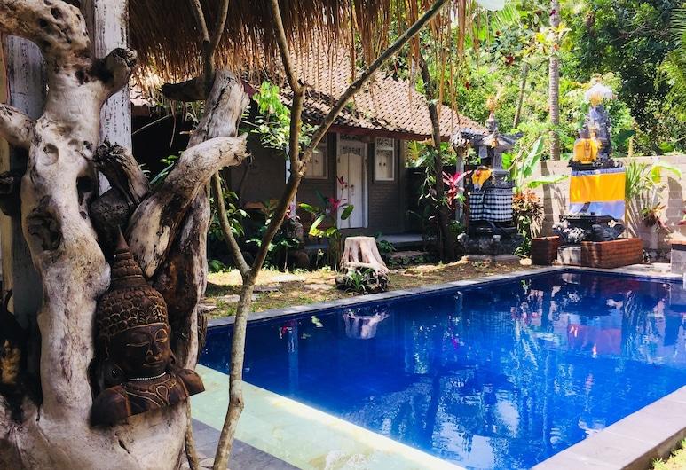 Pranajaya Villa, Tejakula, Lauko baseinas