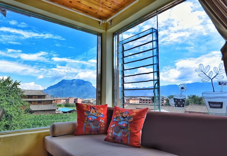 Luguhu Crazy Bird Youth Hostel, Lijiang, Perhehuone, Vierashuone