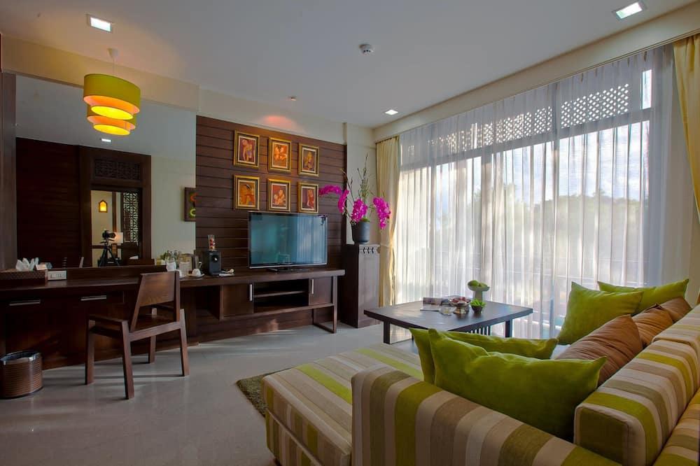 Victoria Suite - Зона гостиной