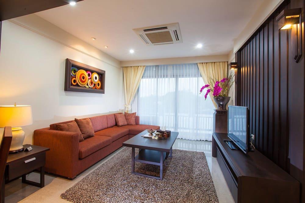 Empire Suite - Зона гостиной