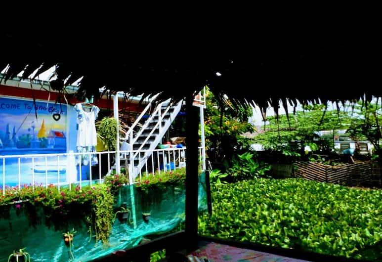 新皮曼河景旅館 - 青年旅舍, 曼谷, 陽台