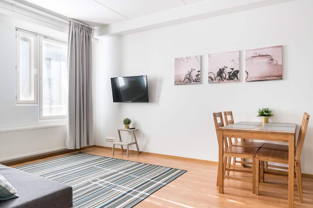 Standard-huoneisto, 2 makuuhuonetta, Sauna - Ruokailu omassa huoneessa