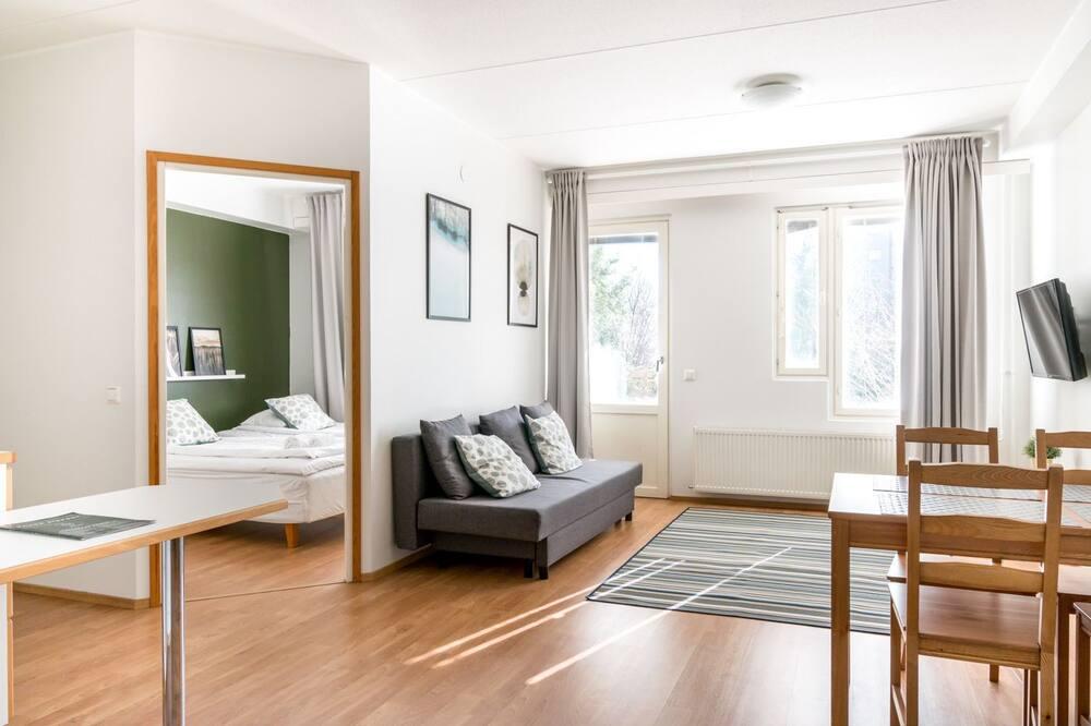 Standard-huoneisto, 1 makuuhuone, Sauna - Oleskelualue