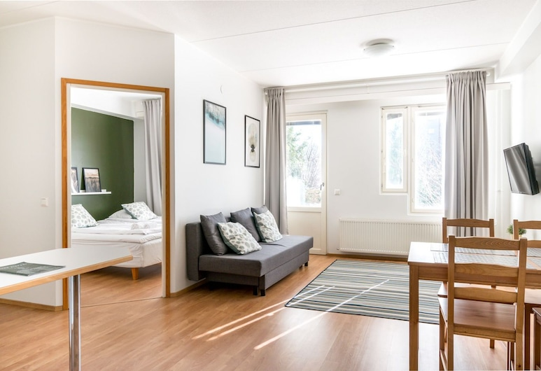 Hiisi Homes Vantaa Sauna Airport, Vantaa, Standard külaliskorter, 1 magamistoaga, saun, Lõõgastumisala