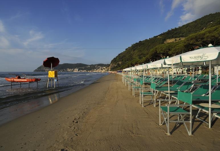 Hotel Majestic, Alassio, Spiaggia