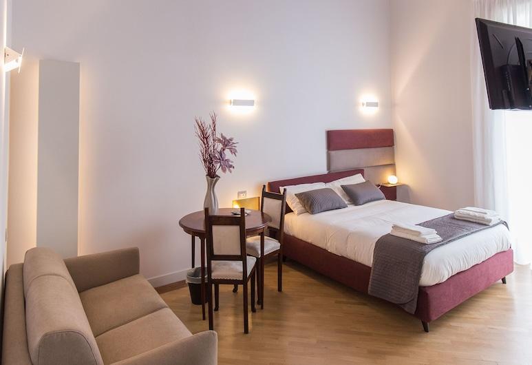 Savoy Riviera, Napoli, Dobbeltrom – romantic, 1 queensize-seng med sovesofa, Gjesterom