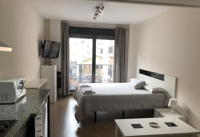 Hostal Andres, Valencia, Loft, balcón, Habitación