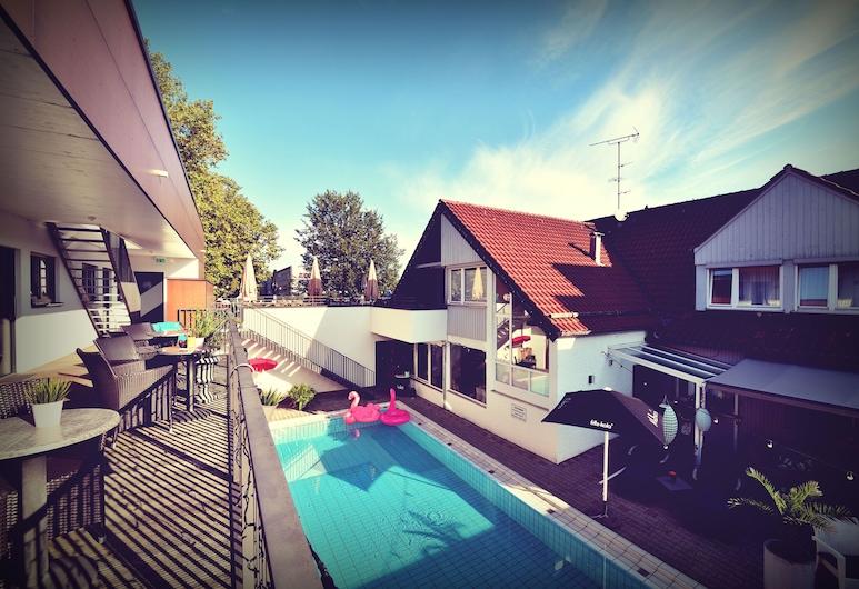Hotel Pension Nagel, Lindau (Bodensee), Avlu