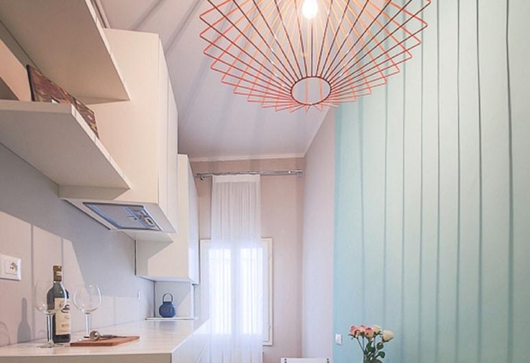 Pinzochere White, Florence, Apartment, 1 Bedroom, Private kitchen