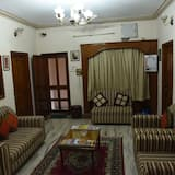 Luxus háromágyas szoba, 3 egyszemélyes ágy - Nappali rész
