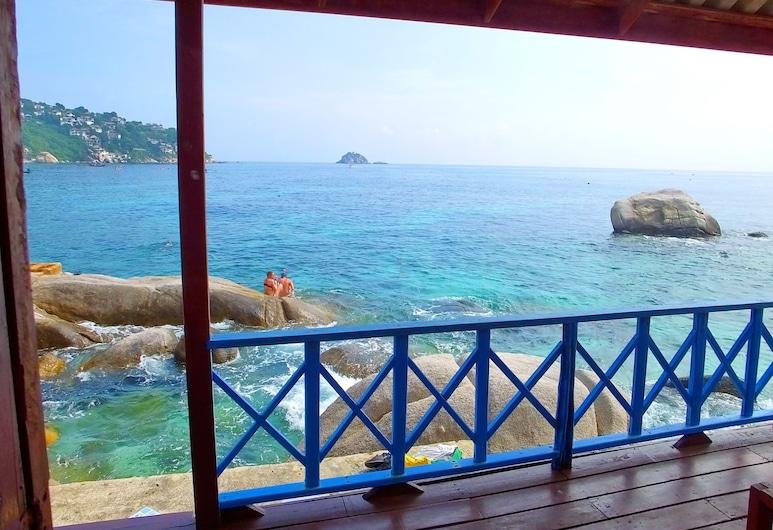 OK2 Bungalow, Koh Tao, Standard Bungalow - Ocean Front, Balcon
